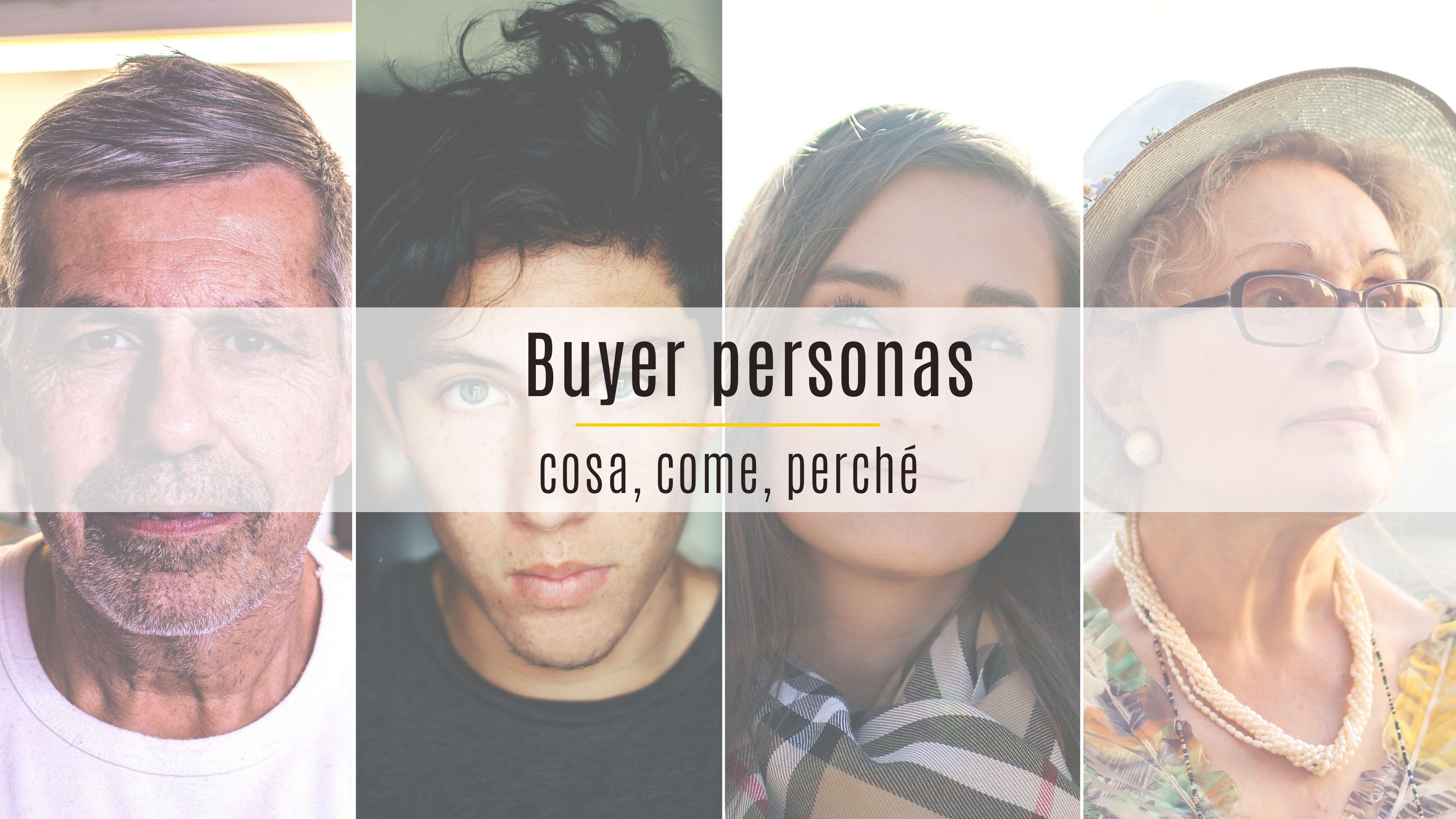 copertina articolo sulle buyer personas